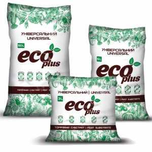Торфяной субстрат универсальный 6л, eco plus