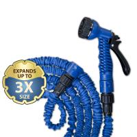 Растягивающийся шланг TRICK HOSE, синий, 5-15 м